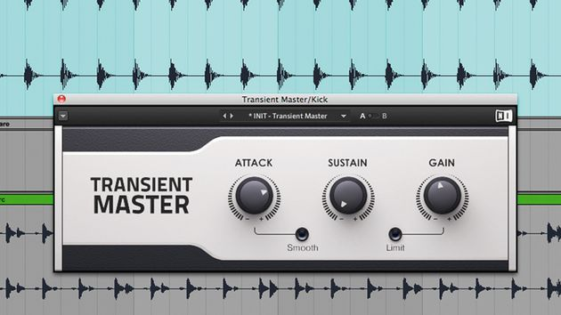 A transient designer plugin can sometimes be more precise than a compressor or limiter.