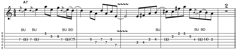 25 blues rock guitar licks you need to know musicradar minor to major pentatonic tab fullscreen hexwebz Choice Image