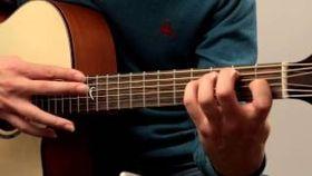 Chet Atkins style harp harmonics