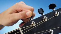 Seven altered tunings for acoustic guitar