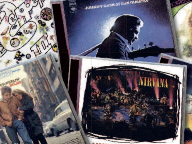 30 Albums classiques de guitare acoustique