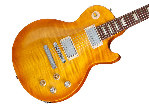Gary Moore Les Paul Standard finish