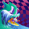 MGMT show their taste with a classic Ausgang psych/surf cover - check out ausgangart.com for more