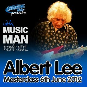 Albert lee announces one-off uk guitar masterclass