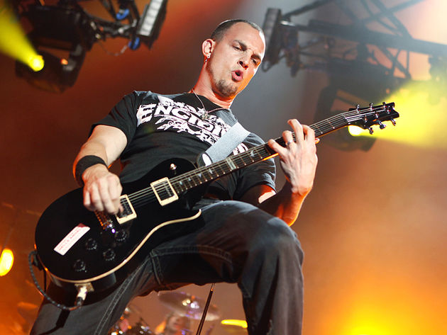 Tremonti and his signature PRS
