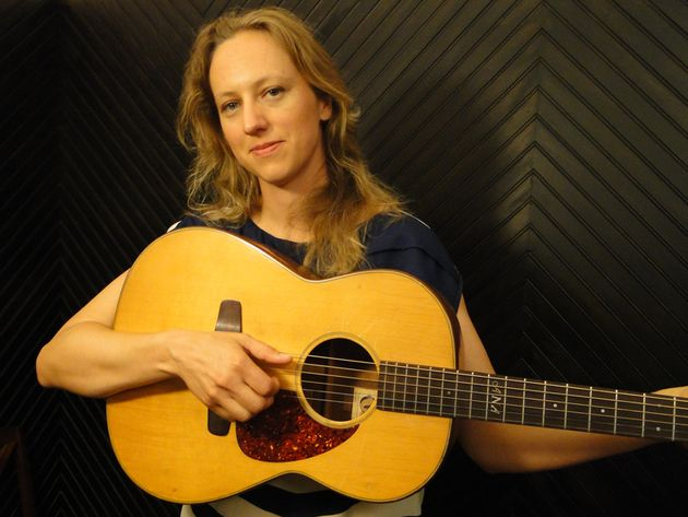 "Folk-rocker Egge built her very own guitar. ""It takes patience,"" she says"