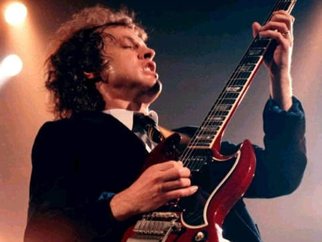 Angus Young: little and  loud
