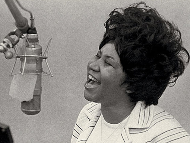 Aretha Franklin: a little respect is due.