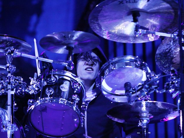 Former Confide drummer Arin Ilejay performing with A7X. Will he be the band's permanent skinsman?