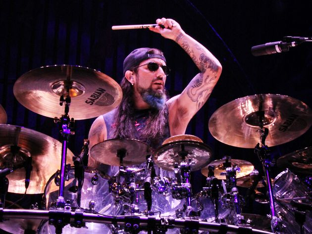Portnoy on stage with A7X, 4 Sepetmber 2010, just days before he announced his departure from Dream Theater