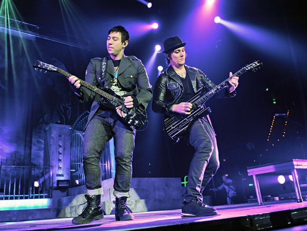 Zacky Vengeance (left) and Synyster Gates (right). The two guitarists weren't ready to commit to Portnoy