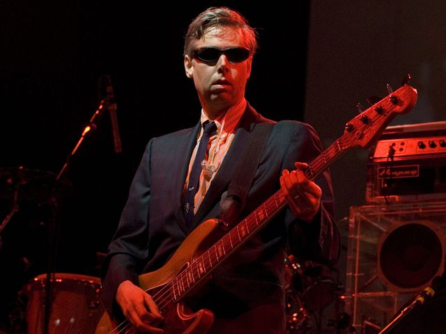 Adam Yauch on bass in Ireland, 2007