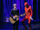 Beck and Will Ferrell talk spandex jumpsuits