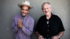 Ben Harper and Charlie Musselwhite talk Get Up!