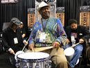 NAMM 2012 VIDEO: Bernard Purdie on the Calzone Case Company stand