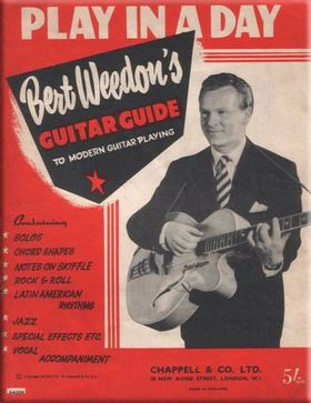 Pioneering guitarist Bert Weedon dies aged 91