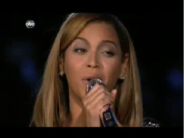 Beyonce: proud, one suspects.