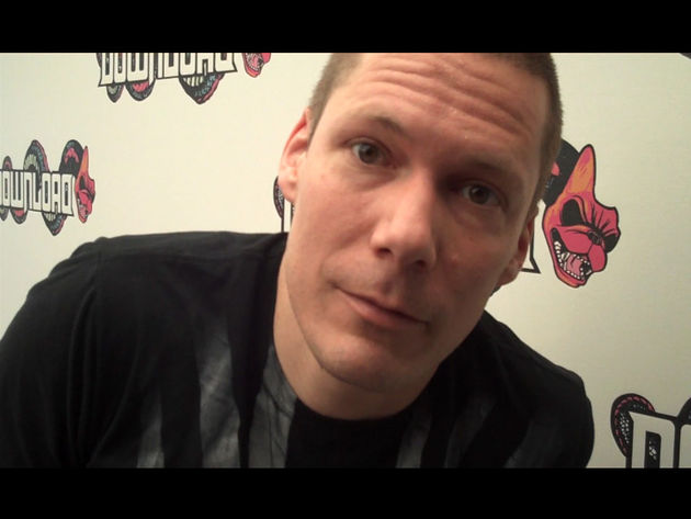 Billy Talent's drummer speaks at Download 2009