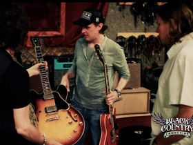 VIDEO: Black Country Communion in the studio
