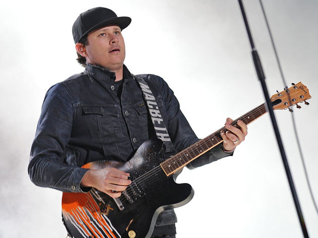 Tom DeLonge at Germnany's Southside Festival 2012.