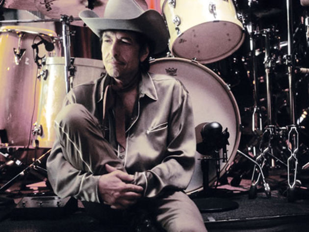 Bob Dylan: always suitably attired