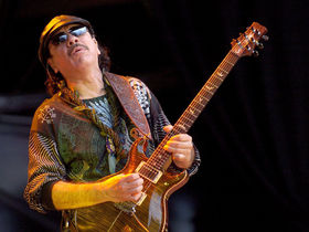 Carlos Santana covers AC/DC, The Beatles, Zeppelin on upcoming album