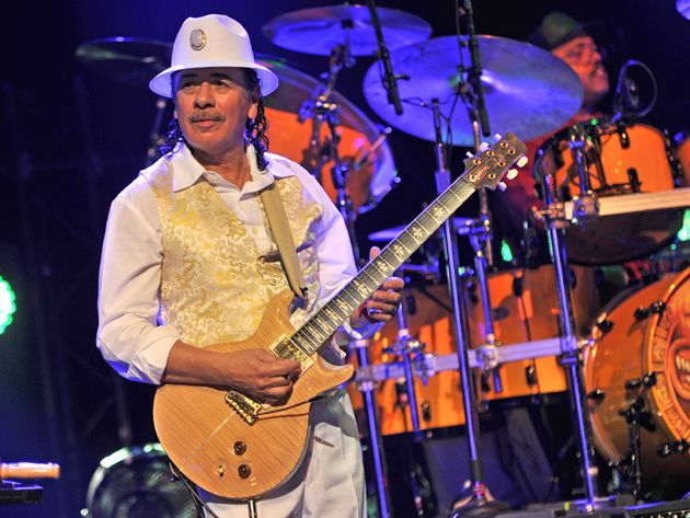On his new Blu-ray and DVD, Carlos Santana serves a five-course meal