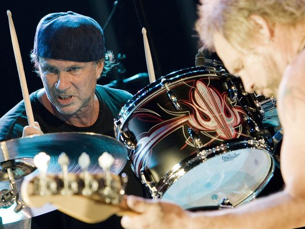 Chad Smith rocks with Michael Anothony in Chickenfoot...just one of his many bands