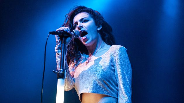 Charli XCX onstage in Chicago, May 2013