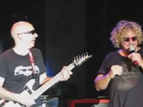 Chickenfoot's first show brings out fire department