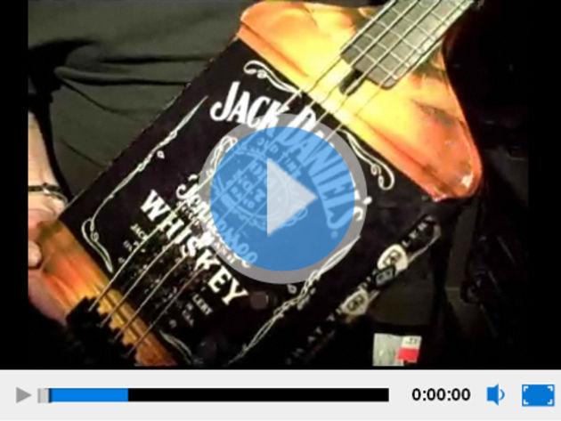 The infamous Jack Daniel's bass