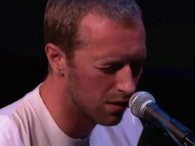 Is Chris Martin sending out a message with the song Wedding Bells?