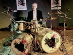 L'immense batteur Ginger Baker en concert au New Morning le 30 juin