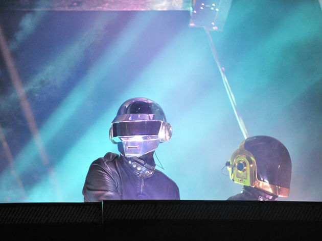 Daft Punk is playing at Nile's house, apparently.