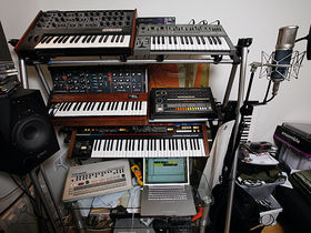 In pictures: Dave Spoon's bedroom studio
