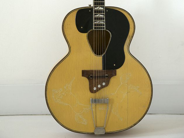 The guitar that started Dave Stewart's Nashville odyssey