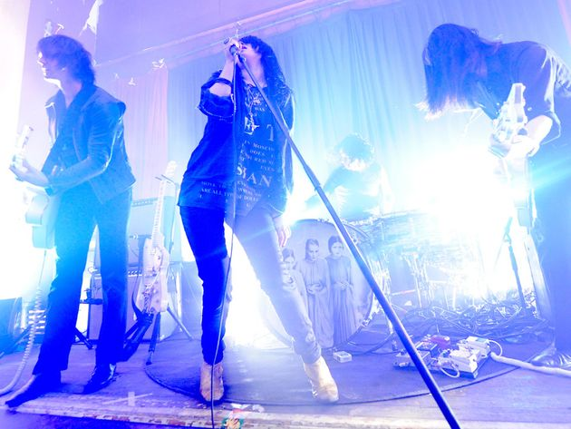 The Dead Weather on stage in LA