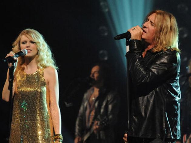 Taylor Swift + Def Leppard = Hysteria