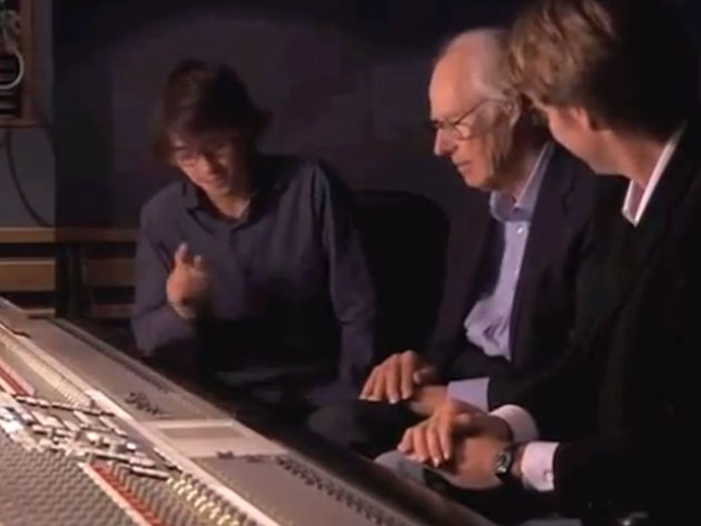 Dhani Harrison, George and Giles Martin listen to Here Comes The Sun with new ears