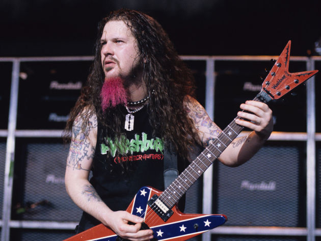 Until now, Dimebag Darrell's Twisted was in his girlfriend's personal collection