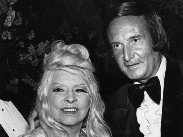 Don Kirshner, right, with screen icon Mae West in 1976
