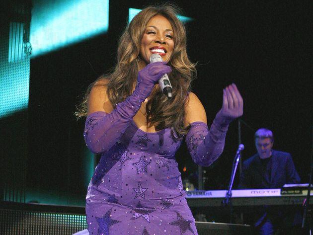 Donna Summer on stage in 2010.