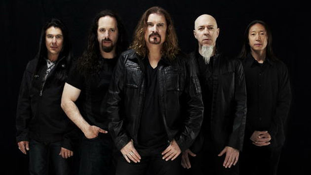 Dream Theater are (from left) Mike Mangini, John Petrucci, James LaBrie, Jordan Rudess and John Myung