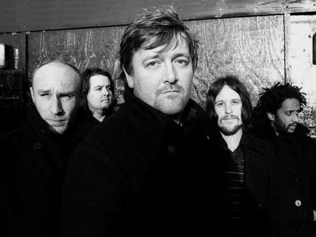 Elbow: overjoyed at the news, clearly