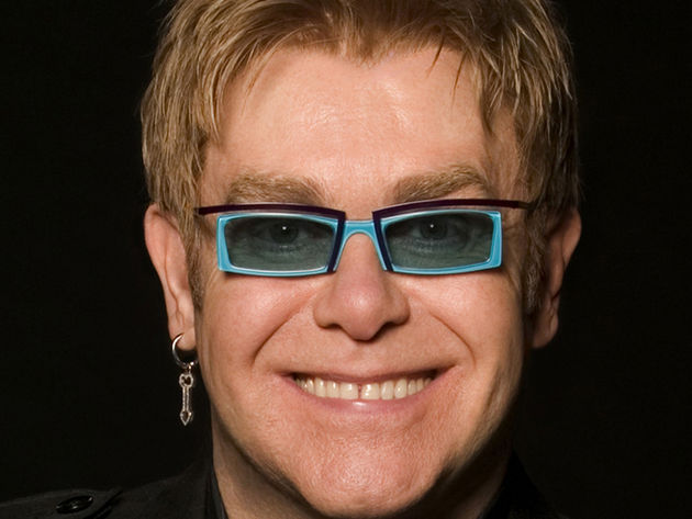 Elton John: breathing other-worldly life into the costume drama.
