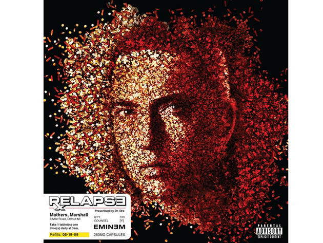Eminem's Relapse: don't operate heavy machinery while listening to this one