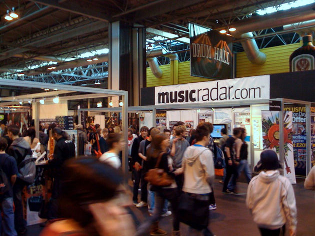 Pop over to the MusicRadar stand and say hello