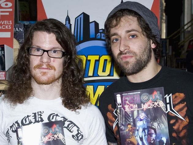 Hurley and Trohman looking very me-tal