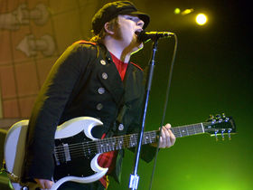 Patrick Stump falls out of Fall Out Boy