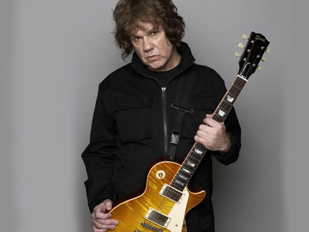 Gary Moore talks blues-rock